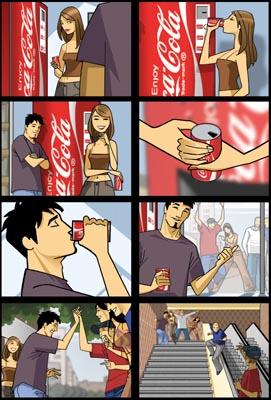 Coca-Cola Storyboard 2