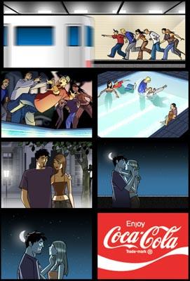 Coca-Cola Storyboard 3