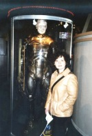 My wife with a borg
