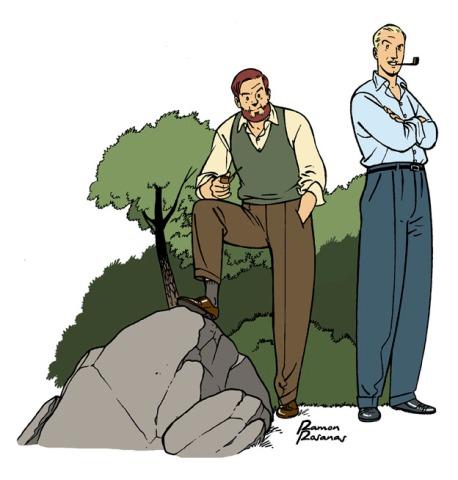 Blake & Mortimer Homage 1