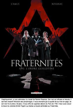 Fraternités comments 1