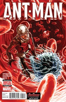 Ant-man#5 cover