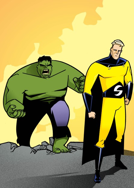 THE SENTRY/HULK